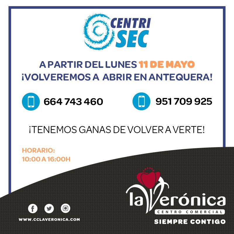 Apertura CentriSec, Centro Comercial La Verónica