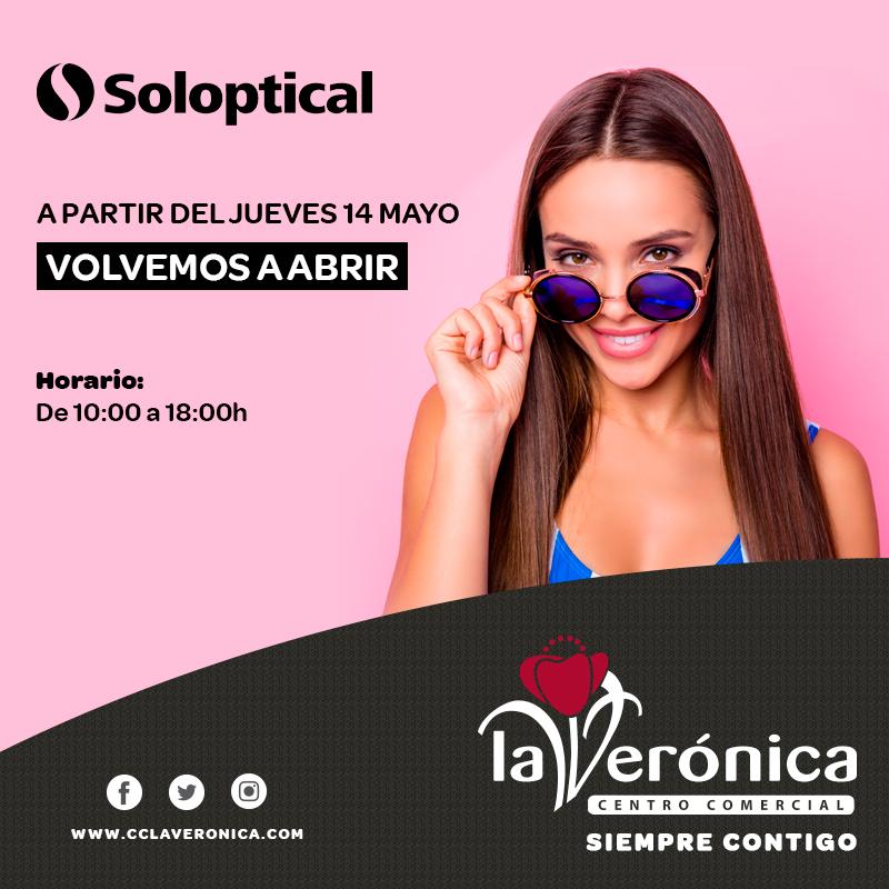 Apertura Soloptical, Centro Comercial La Verónica