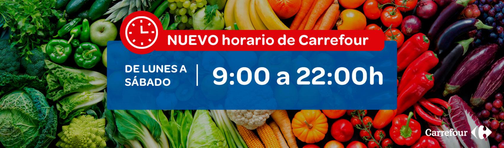 Nuevo horario Carrefour, Centro Comercial La Verónica