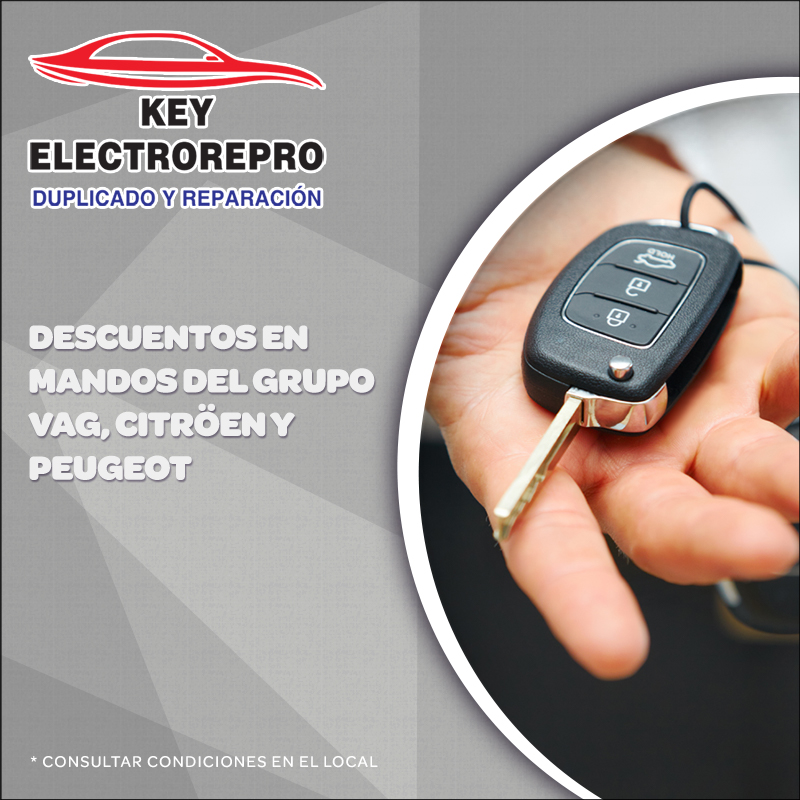 Oferta Key Electrorepro, Centro Comercial La Verónica.
