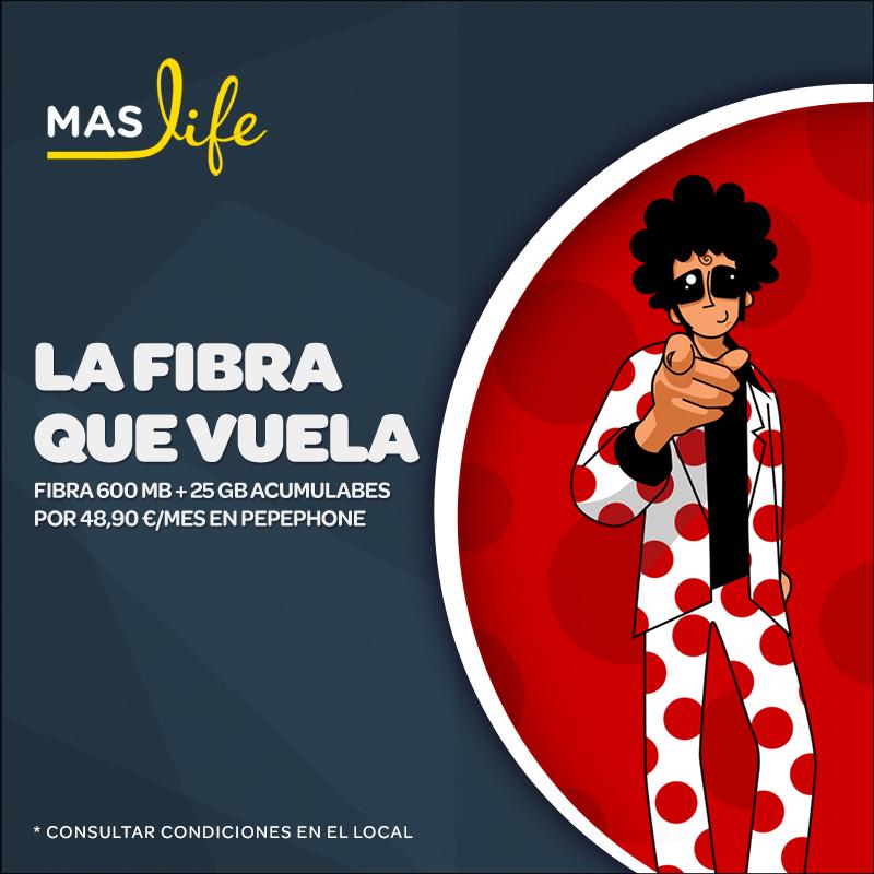 Oferta Maslife, Centro Comercial La Verónica.