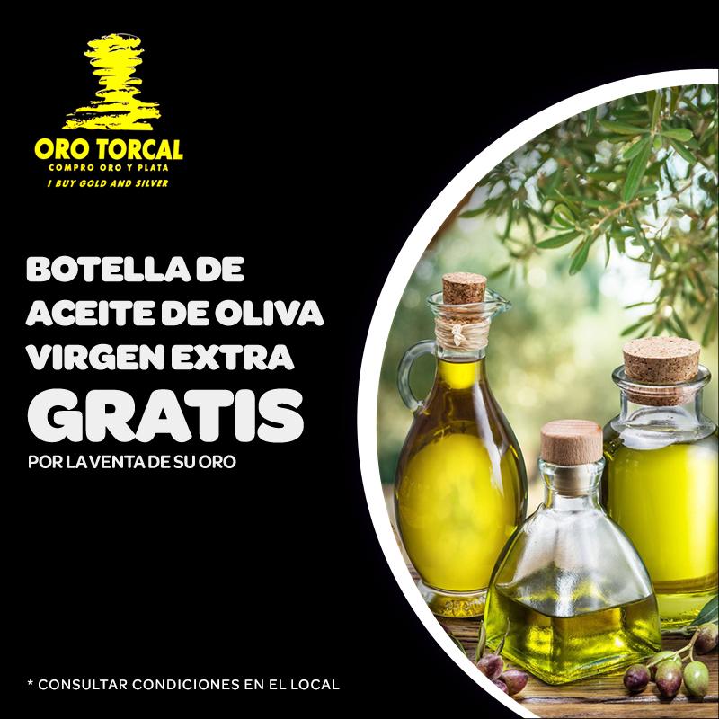 Oferta Oro Torcal, Centro Comercial La Verónica.