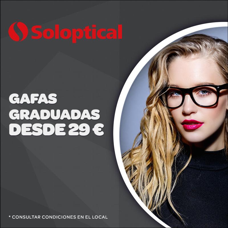Oferta Soloptical, Centro Comercial La Verónica.