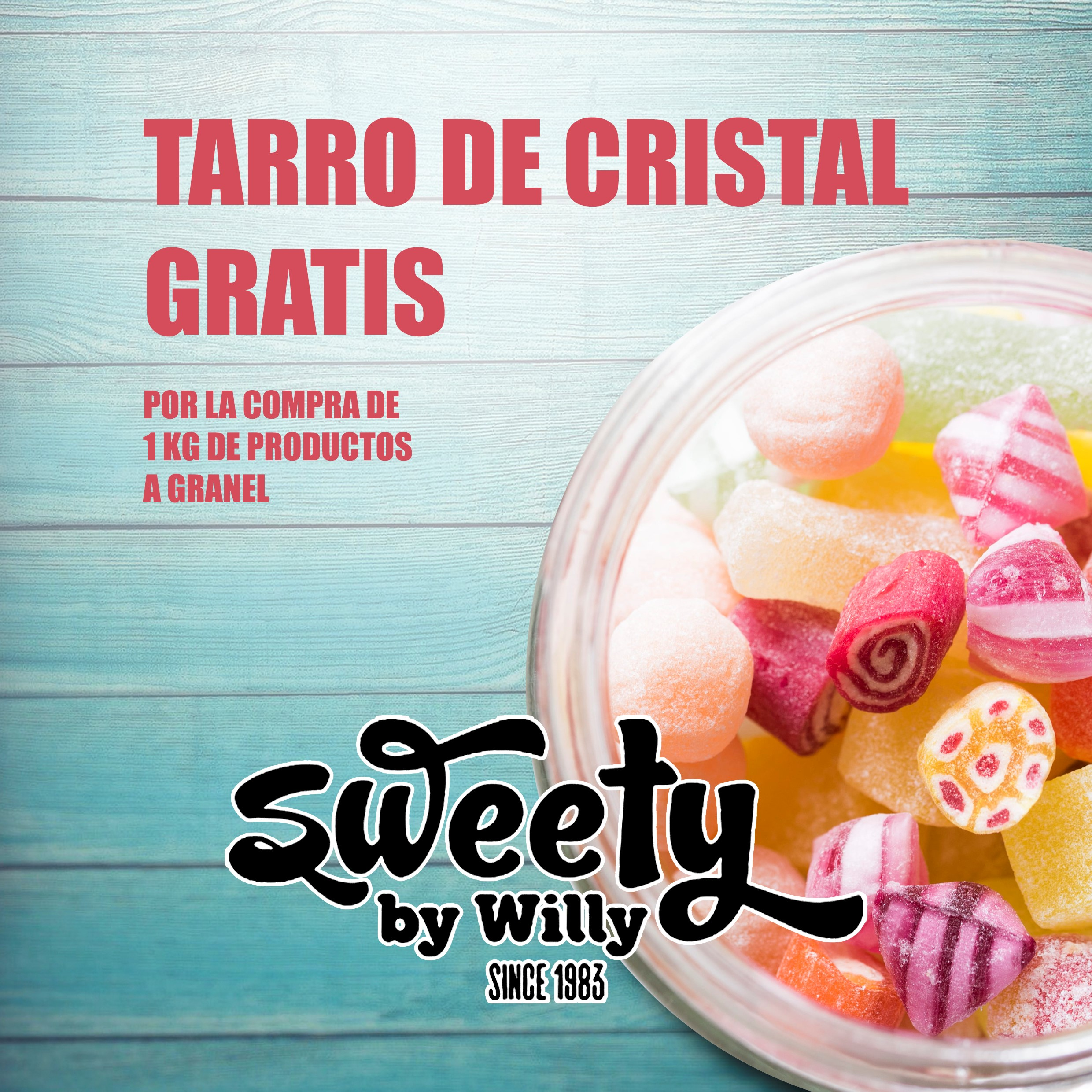 Oferta Sweety by Willy, Centro Comercial La Verónica.