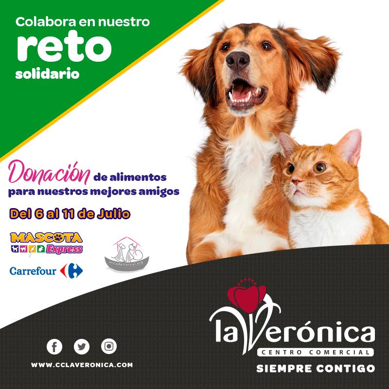 Reto solidario, Centro Comercial La Verónica