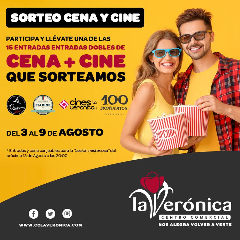 Sorteo Cena y Cine, Centro Comercial La Verónica