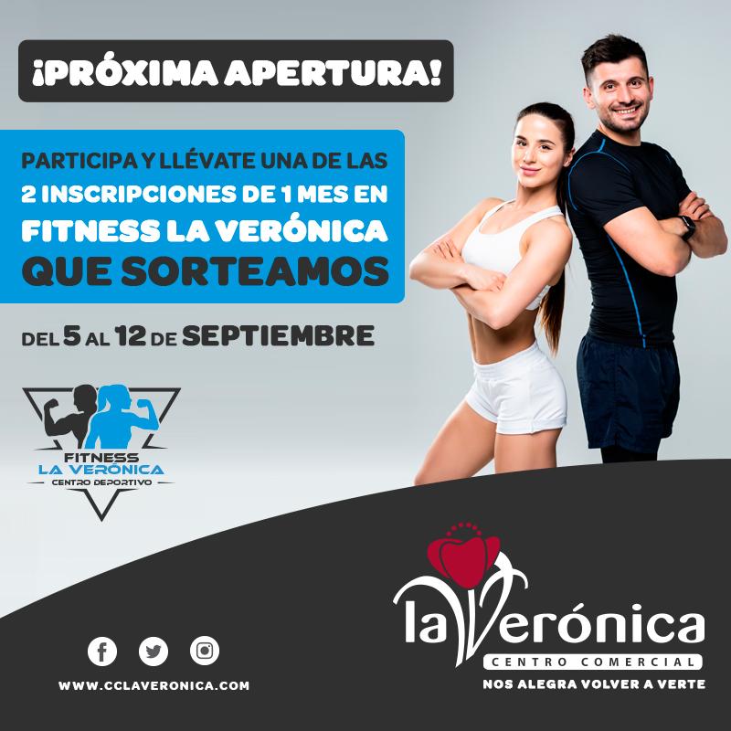 Sorteo Fitness La Verónica, Centro Comercial La Verónica