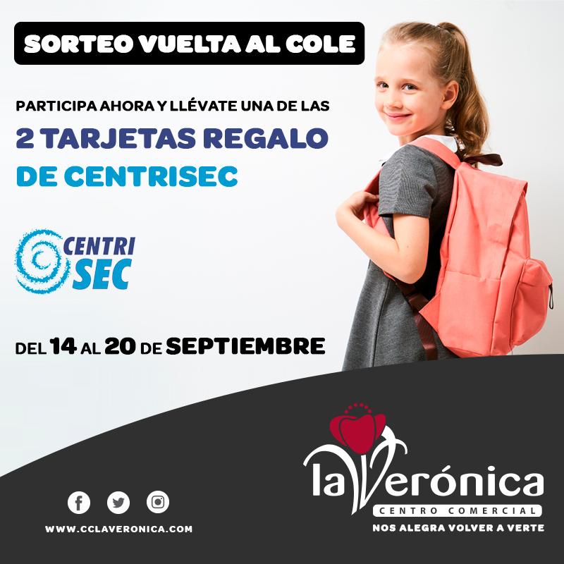 Vuelta al cole Centrisec, Centro Comercial La Verónica