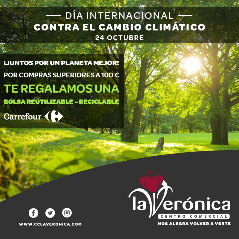 Día Internacional contra el cambio climático, Centro Comercial La Verónica