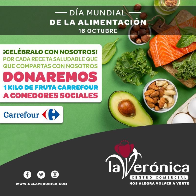 Día Mundial de la alimentación, Centro Comercial La Verónica