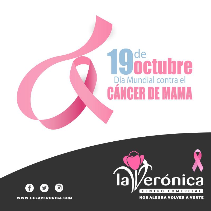 Día Contra el Cáncer de Mama, Centro Comercial La Verónica