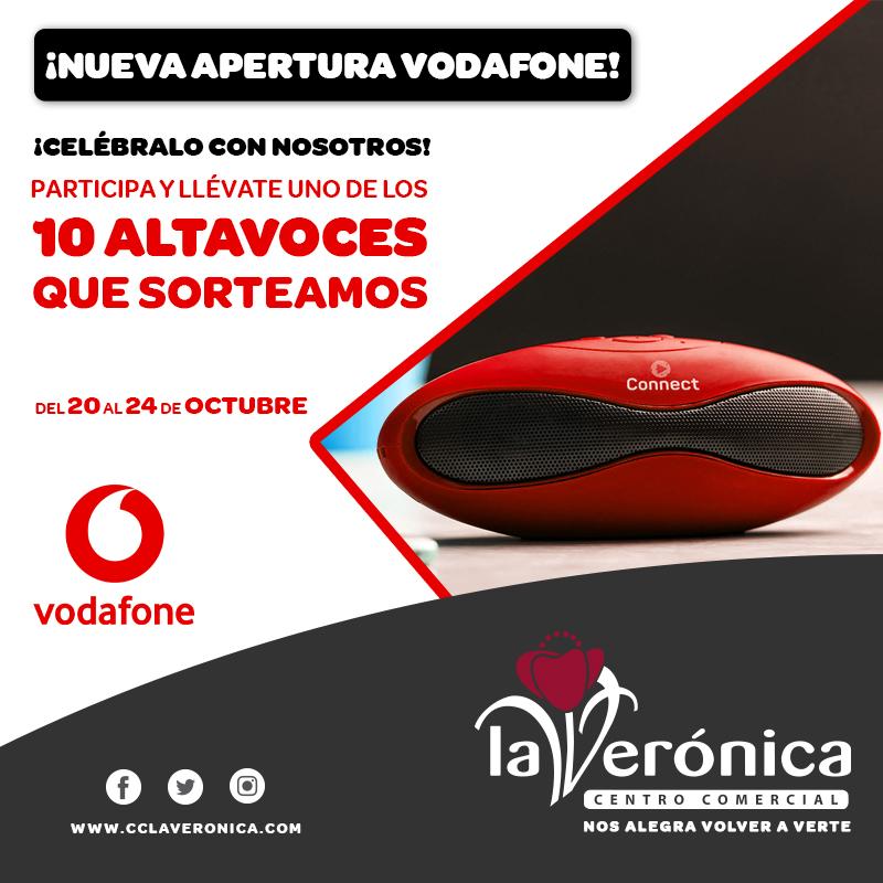 Sorteo Vodafone, Centro Comercial La Verónica