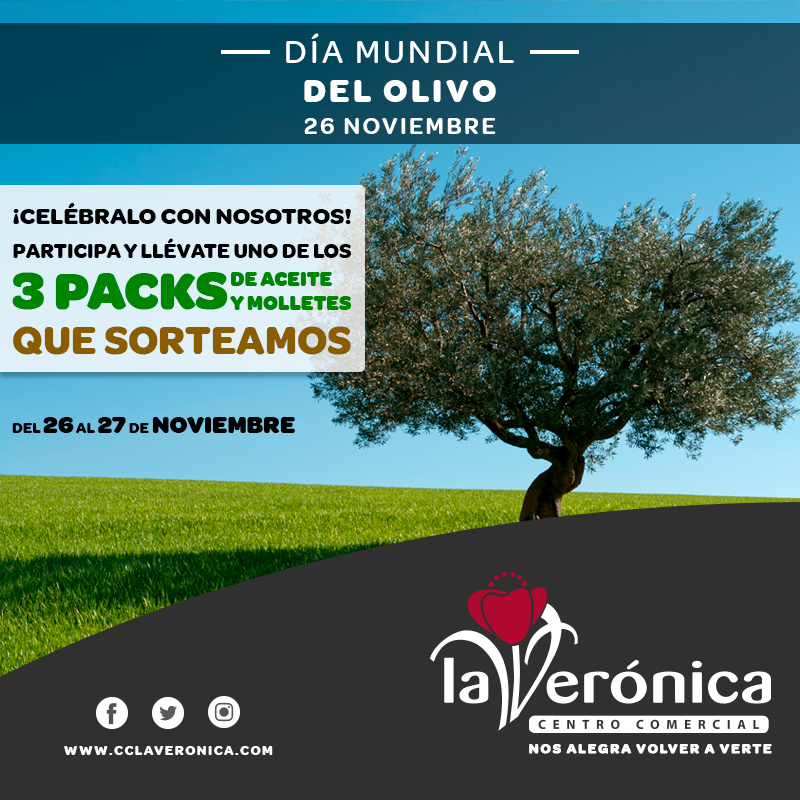 Día Mundial del Olivo, Centro Comercial La Verónica