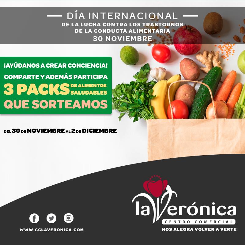 Día Internacional de la lucha contra los Trastornos de la Conducta Alimentaria, Centro Comercial La Verónica