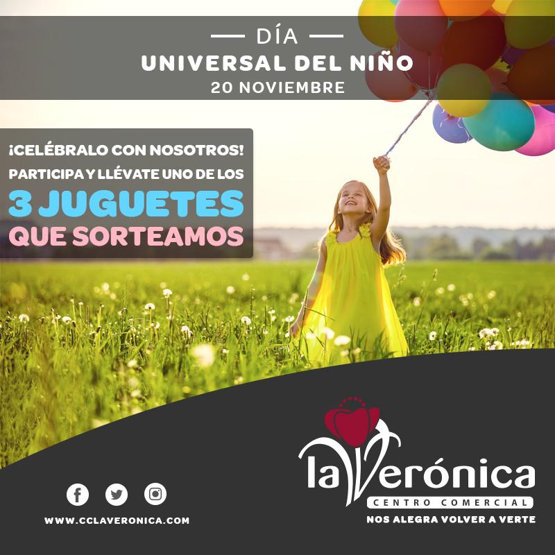 Día Universal Niño 2020, Centro Comercial La Verónica