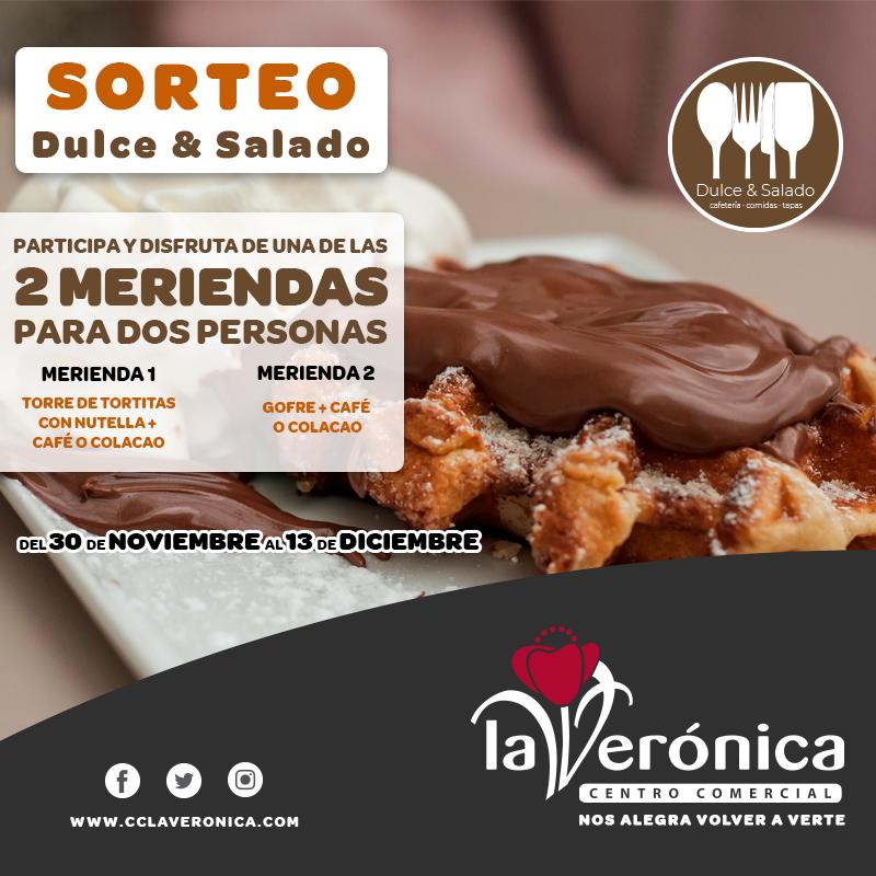 Sorteo Dulce & Salado, Centro Comercial La Verónica