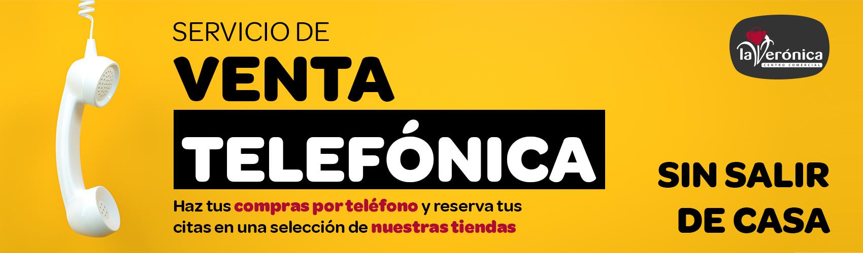 Venta telefónica, Centro Comercial La Verónica Antequera