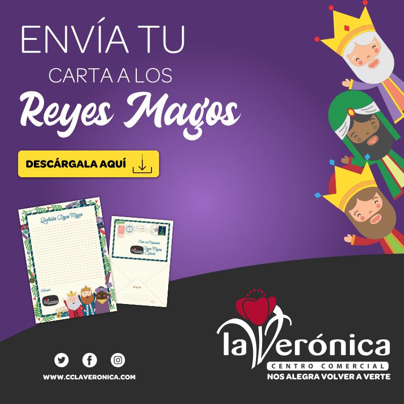 Descaga Carta Reyes Magos, Centro Comercial La Verónica