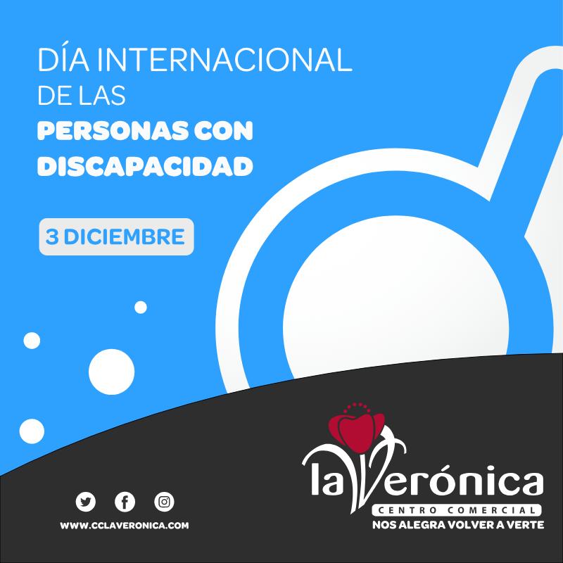 Día Internacional de la discapacidad, Centro Comercial La Verónica