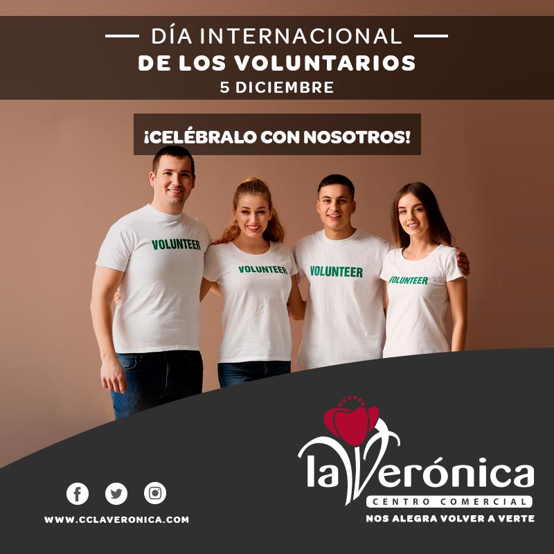 Día Internacional del voluntario, Centro Comercial La Verónica