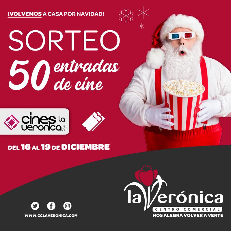 Sorteo Cines La Verónica, Centro Comercial La Verónica