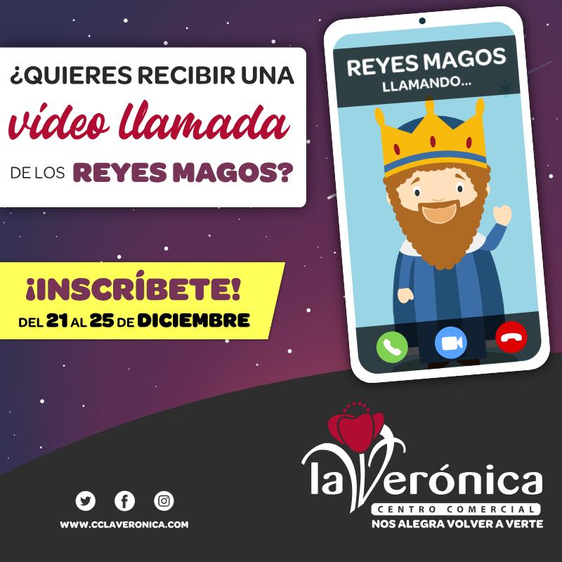 Sorteo Video Llamadas Reyes Magos, Centro Comercial La Verónica