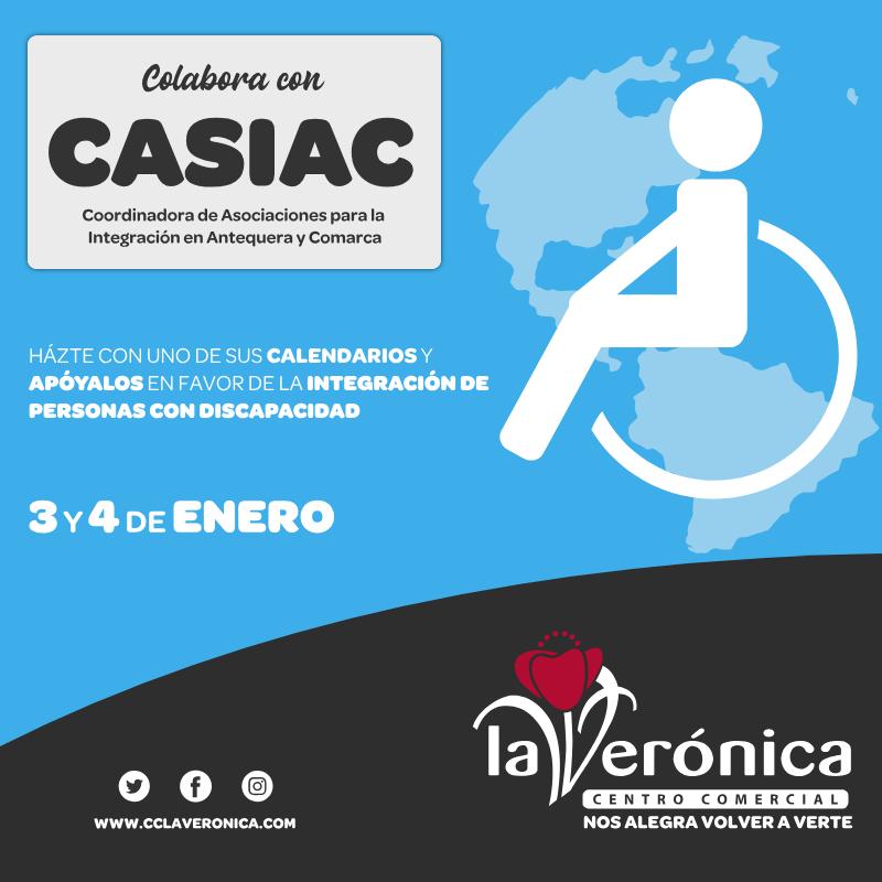 Colabora CASIAC, Centro Comercial La Verónica