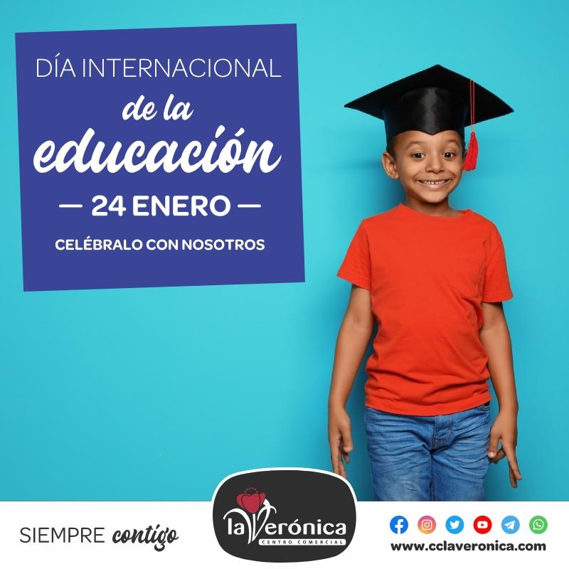 RSC, Día Internacional de la Educación, Centro Comercial la Verónica