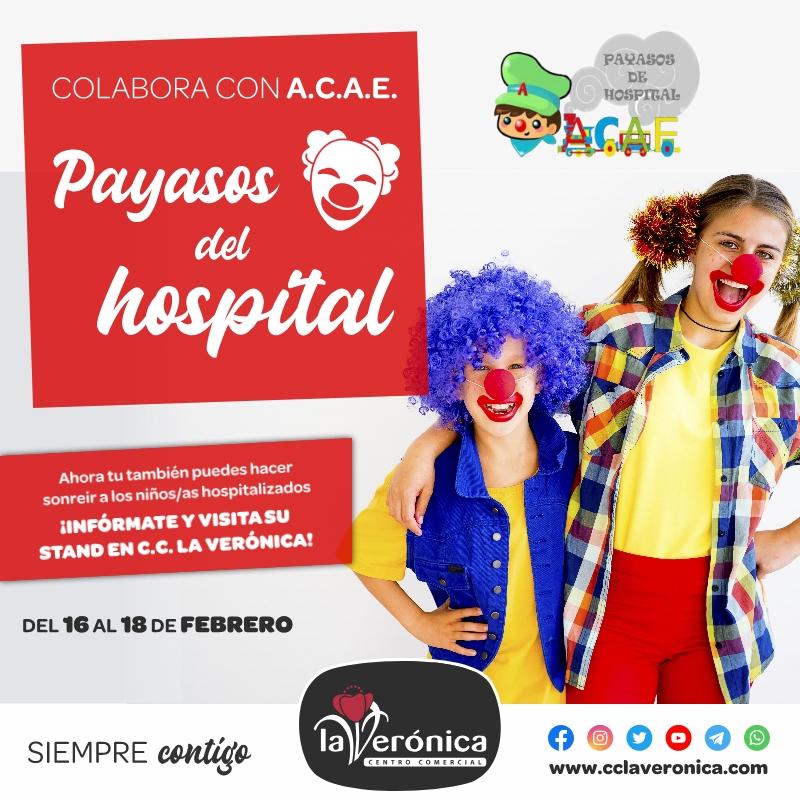 A.C.A.E Payasos del Hospital, Centro Comercial la Verónica