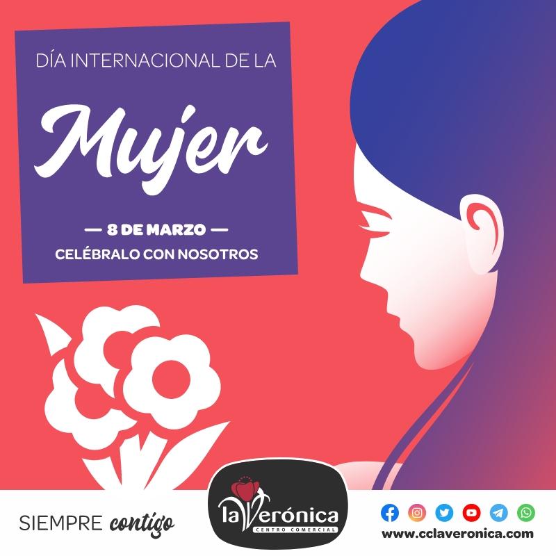 Día Internacional de la Mujer, Centro Comercial la Verónica