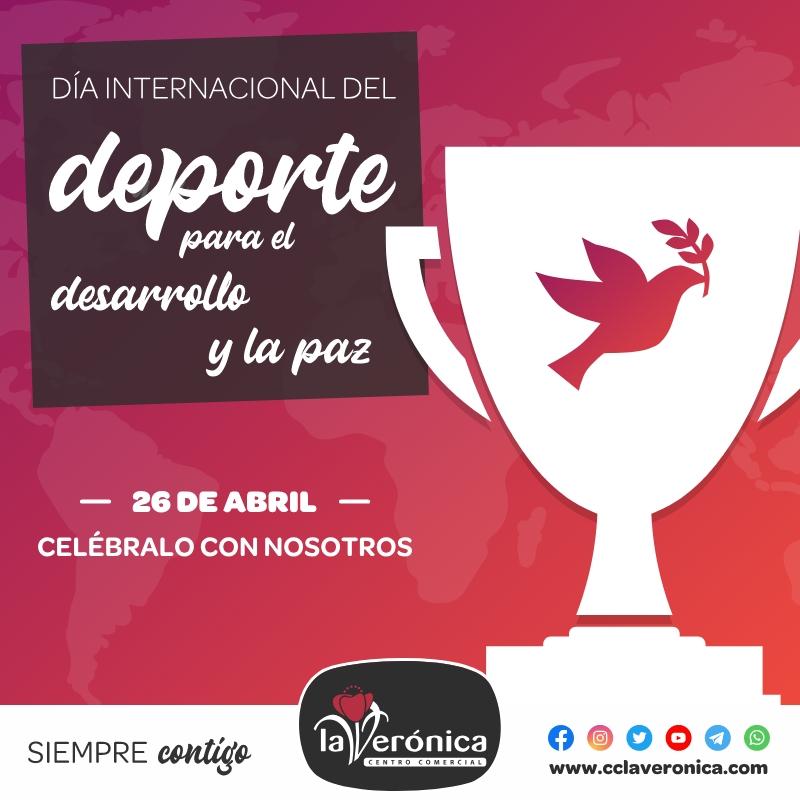 Día Internacional del Deporte para el Desarrollo y la Paz, Centro Comercial la Verónica