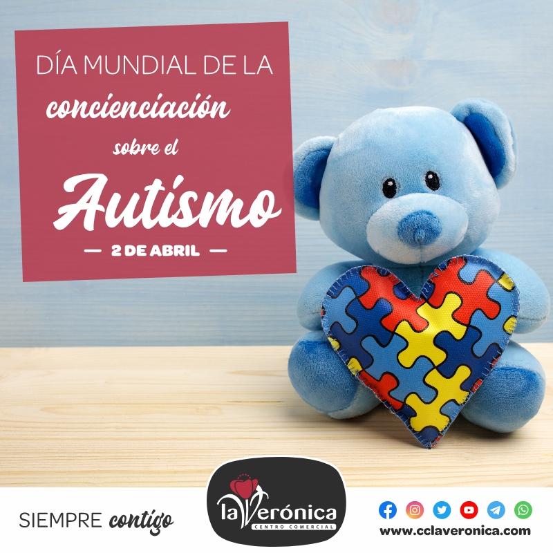 Día Mundial del Autismo, Centro Comercial la Verónica