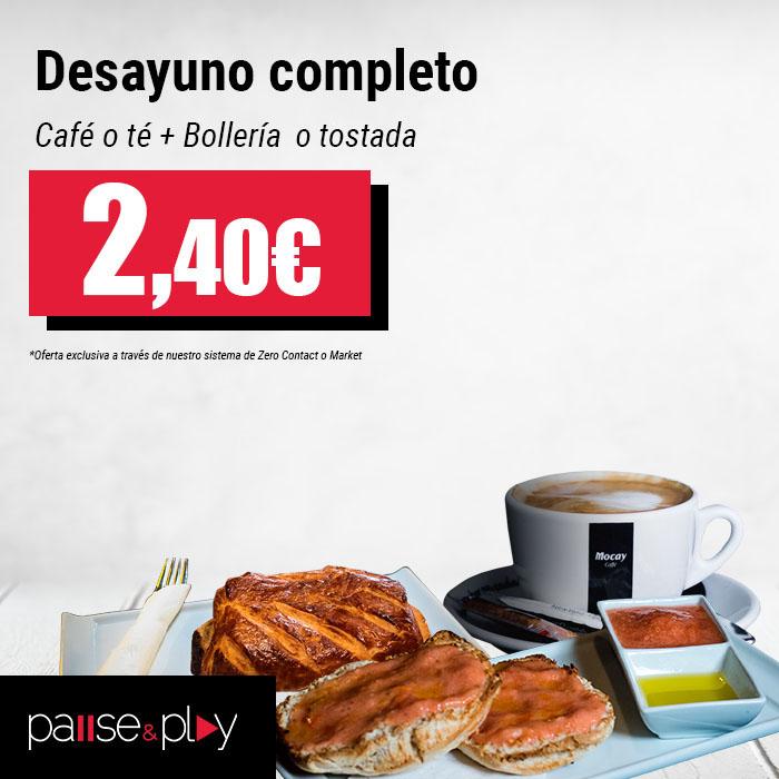 Pause and Play, Centro Comercial La Verónica