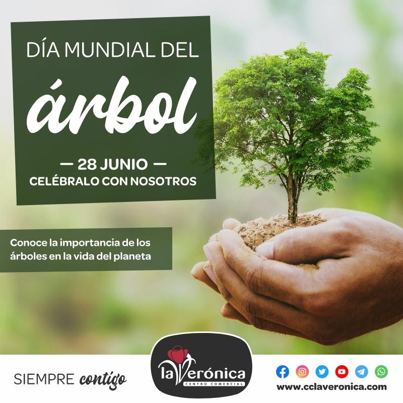 Día Mundial del Árbol, Centro Comercial la Verónica