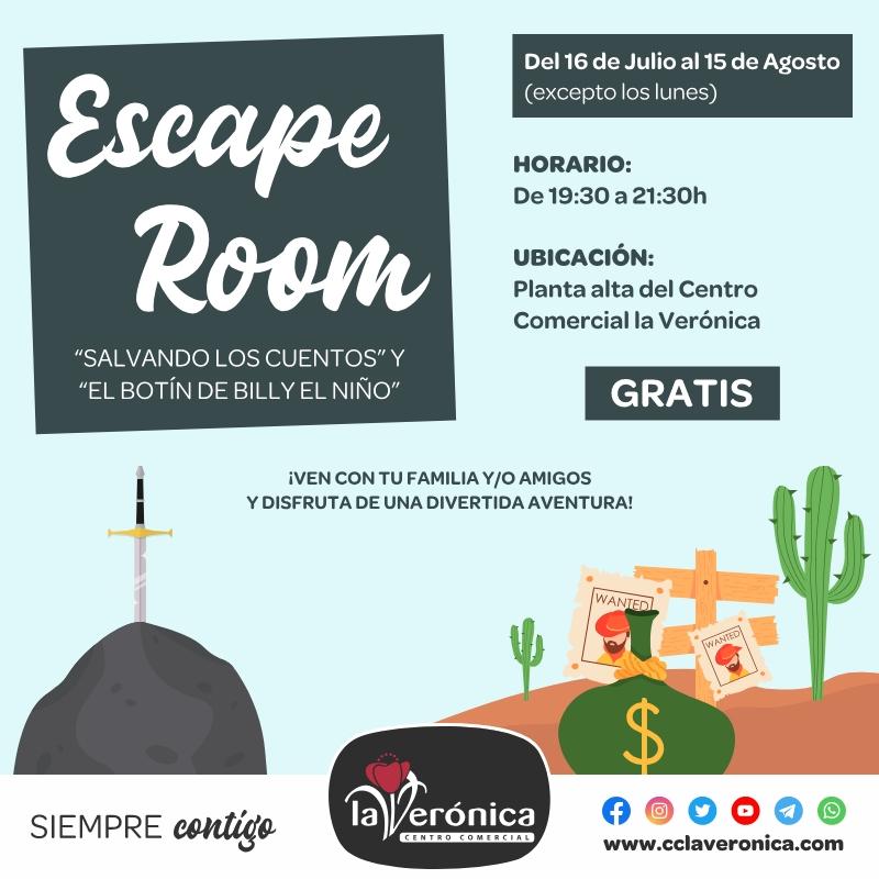 Escape Room, Centro Comercial la Verónica