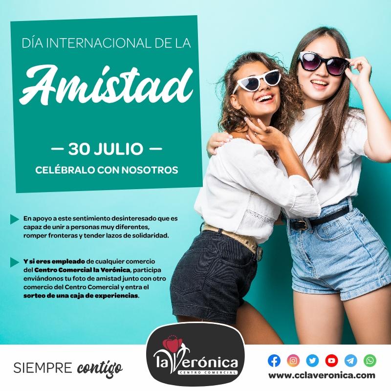 Día Internacional de la amistad, Centro Comercial la Verónica