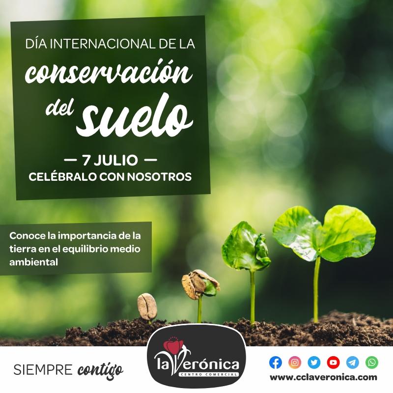Día Internacional para la conservación del Suelo, Centro Comercial la Verónica