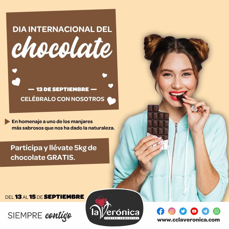 Día internacional del chocolate, Centro Comercial la Verónica