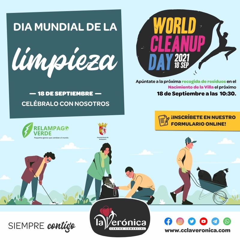 Día mundial de la limpieza, Centro Comercial la Verónica