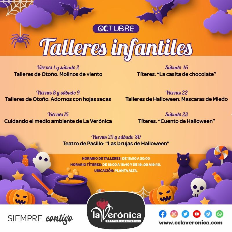Talleres Infantiles, Centro Comerical la Verónica