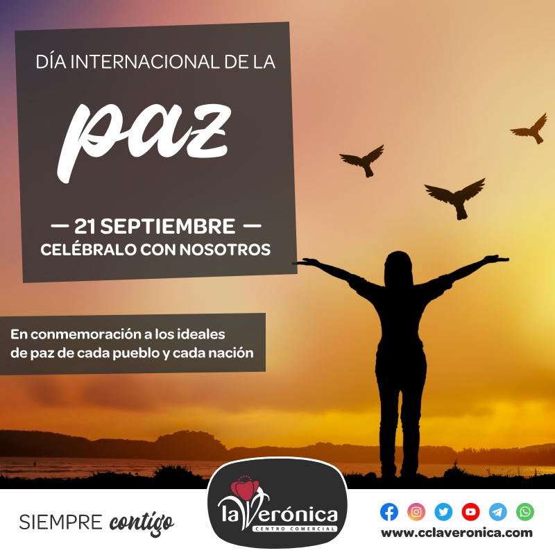 Día Internacional de la Paz, Centro Comercial la Verónica