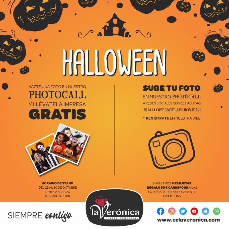 Photocall Halloween, Centro Comercial La Verónica.