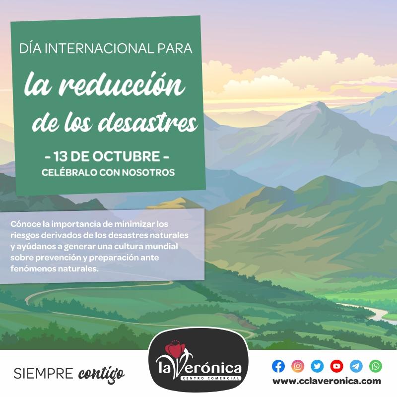 Día Internacional para la reducción de los Desastres, Centro Comercial la Verónica