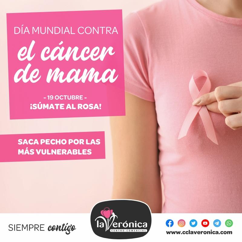 Día mundial contra el cáncer de mama, Centro Comercial la Verónica