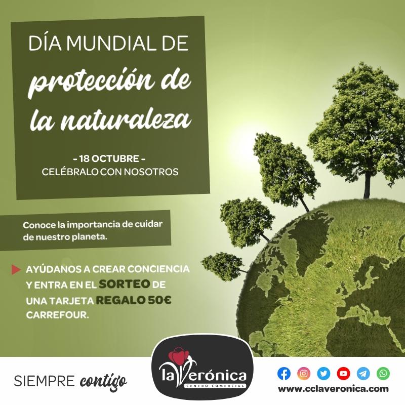 Día mundial de protección de la naturaleza, Centro Comercial la Verónica