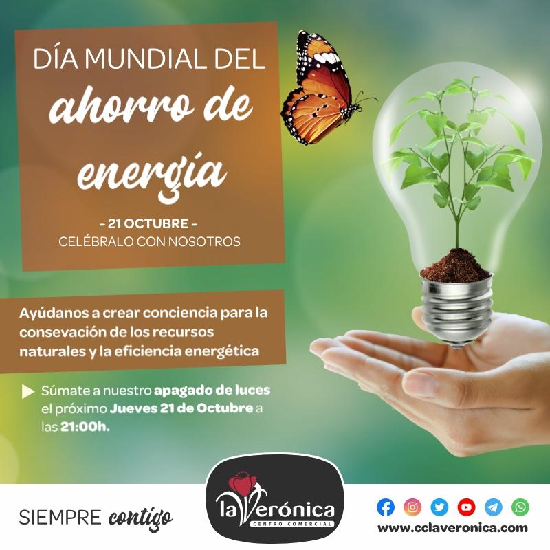 Día mundial del ahorro de energía, Centro Comercial la Verónica