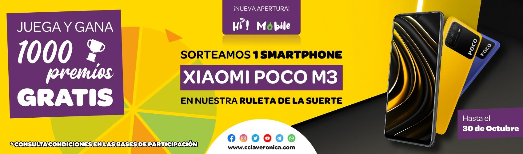 Sorteo Ruleta Hi Mobile - Centro Comercial la Verónica